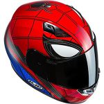 cascos de spiderman